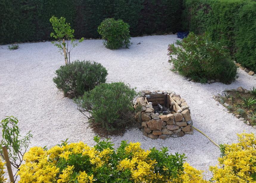 Une perspective supplémentaire et originale au jardin.