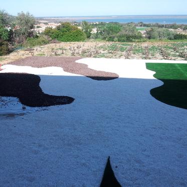 Aménagement d'un jardin moderne à La Palme dans l'Aude